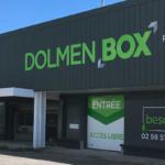 Dolmen box self stockage Quimper